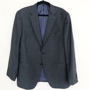 Suit Supply Wool Men's Charcoal Gray Jacket